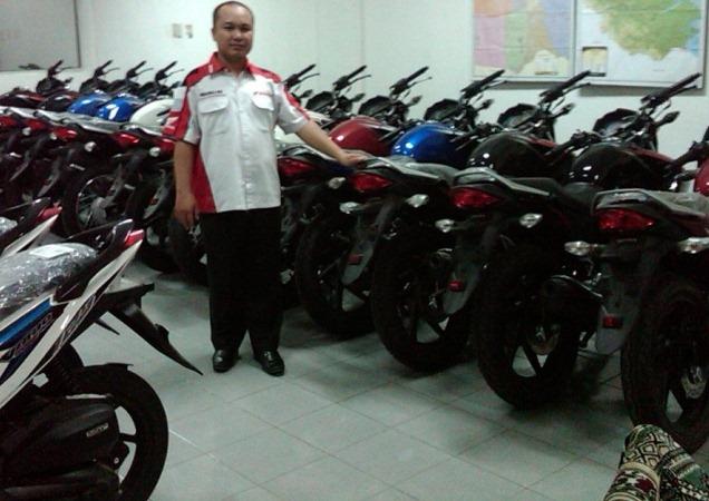 Contoh Surat Perjanjian Jual Beli Sepeda Motor 20penaku