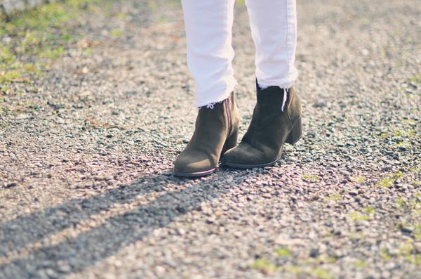 Boots kaki Minelli