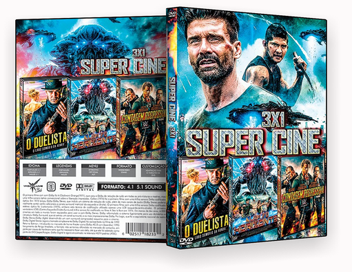FILMES – Super Cine 3X1 – ISO