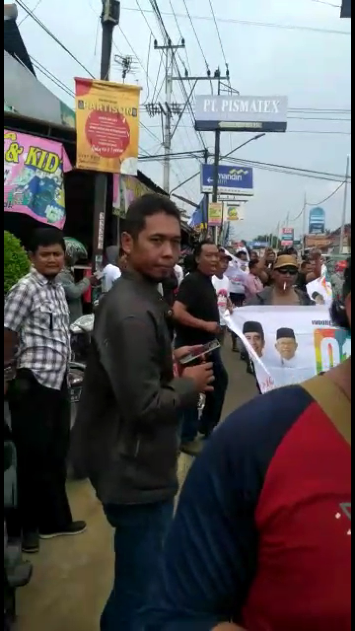 Kampanye Sandi di Pekalongan Ramai, Begini Provokasi Penjegalan Relawan Banteng?