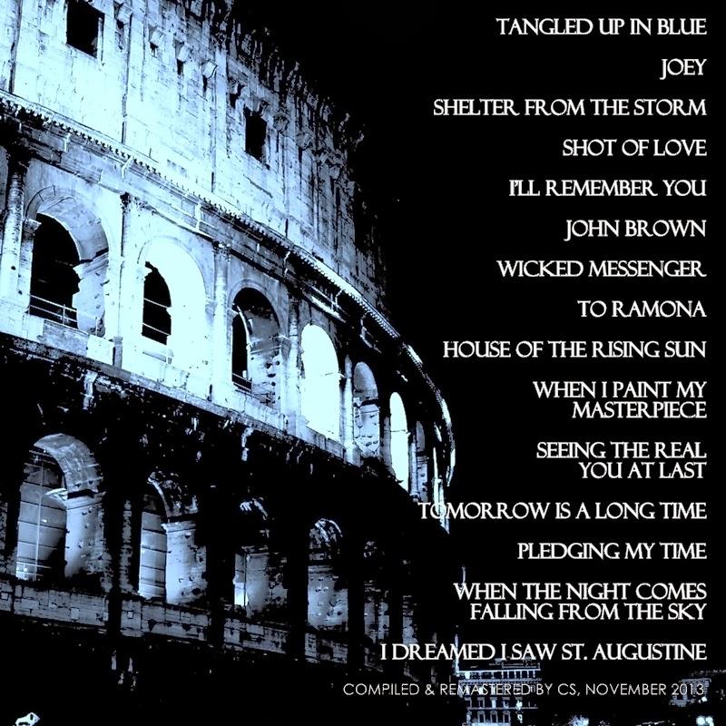 Lyric i dreamed i saw st augustine lyrics : A Thousand Highways: 2013