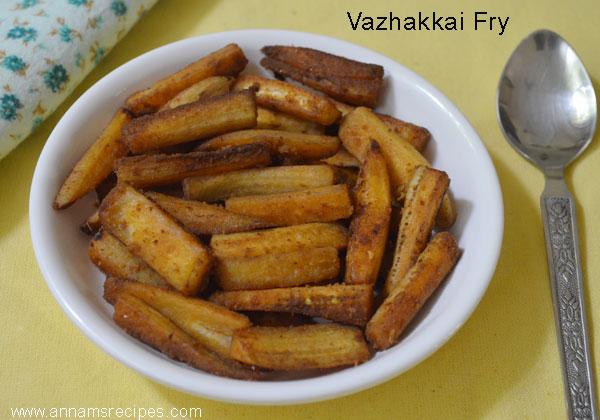 Vazhakkai Fry