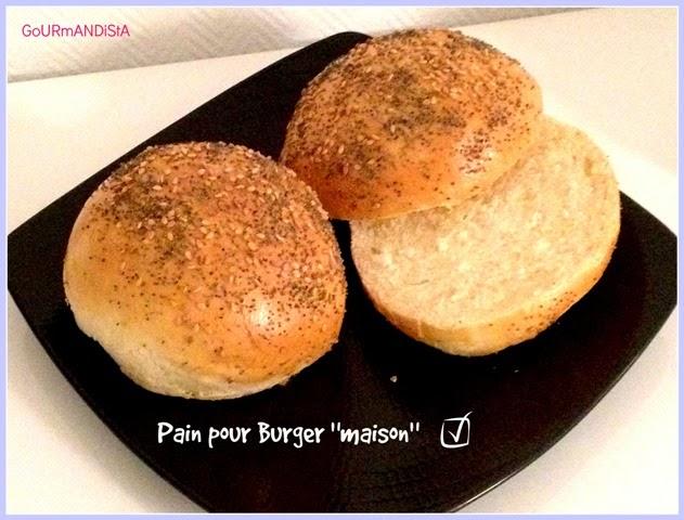 gourmandista hamburger total fait maison pains et frites au four. Black Bedroom Furniture Sets. Home Design Ideas