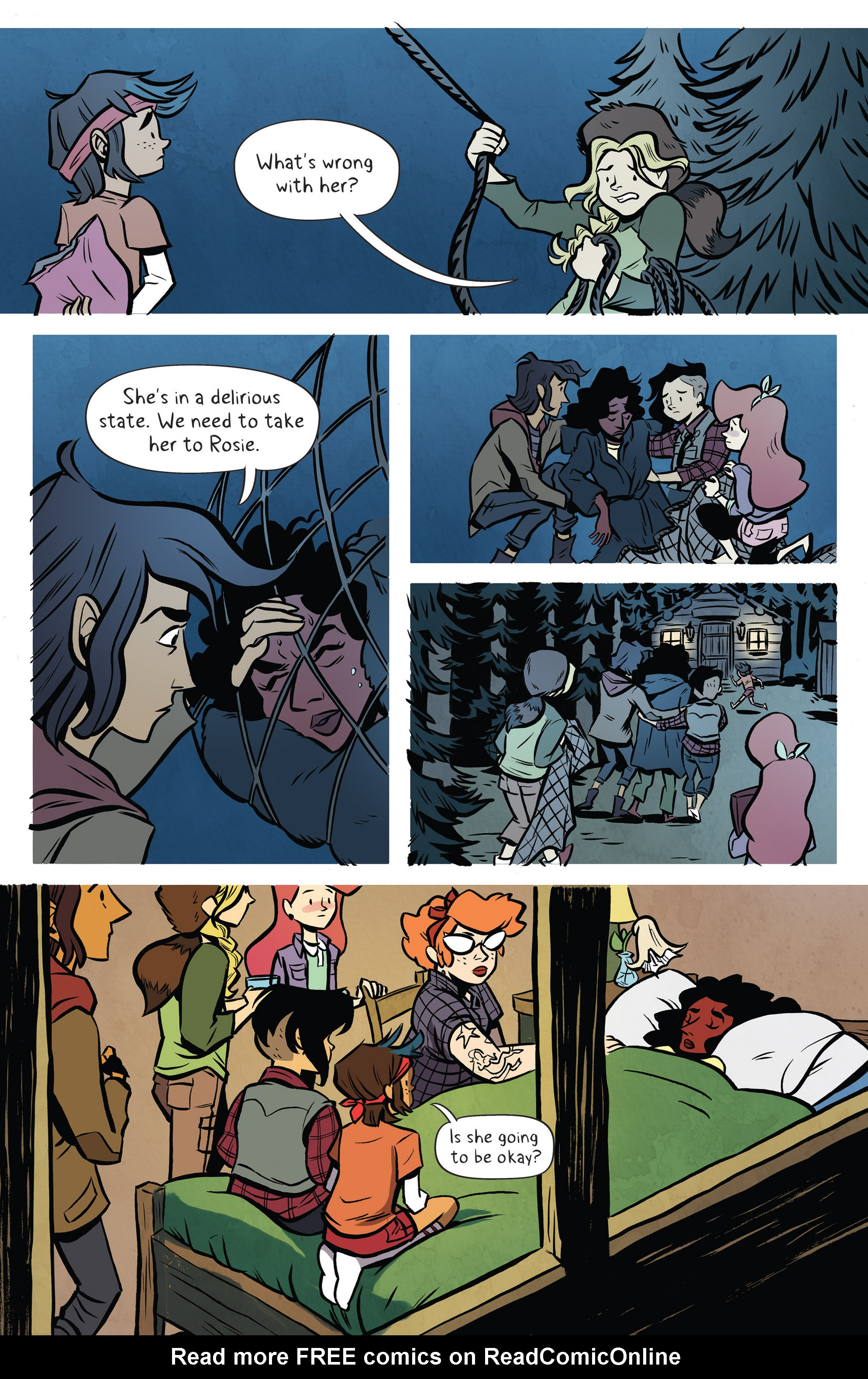 Read online Lumberjanes: Makin' the Ghost of It 2016 Special comic -  Issue # Full - 30