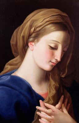 Imagem da Virgem Maria Anunciada, pintura, #1