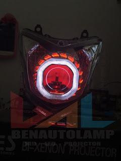 Jual Projector Headlamp Honda Cb 150r Wilayah Tegal Dan Sekitarnya