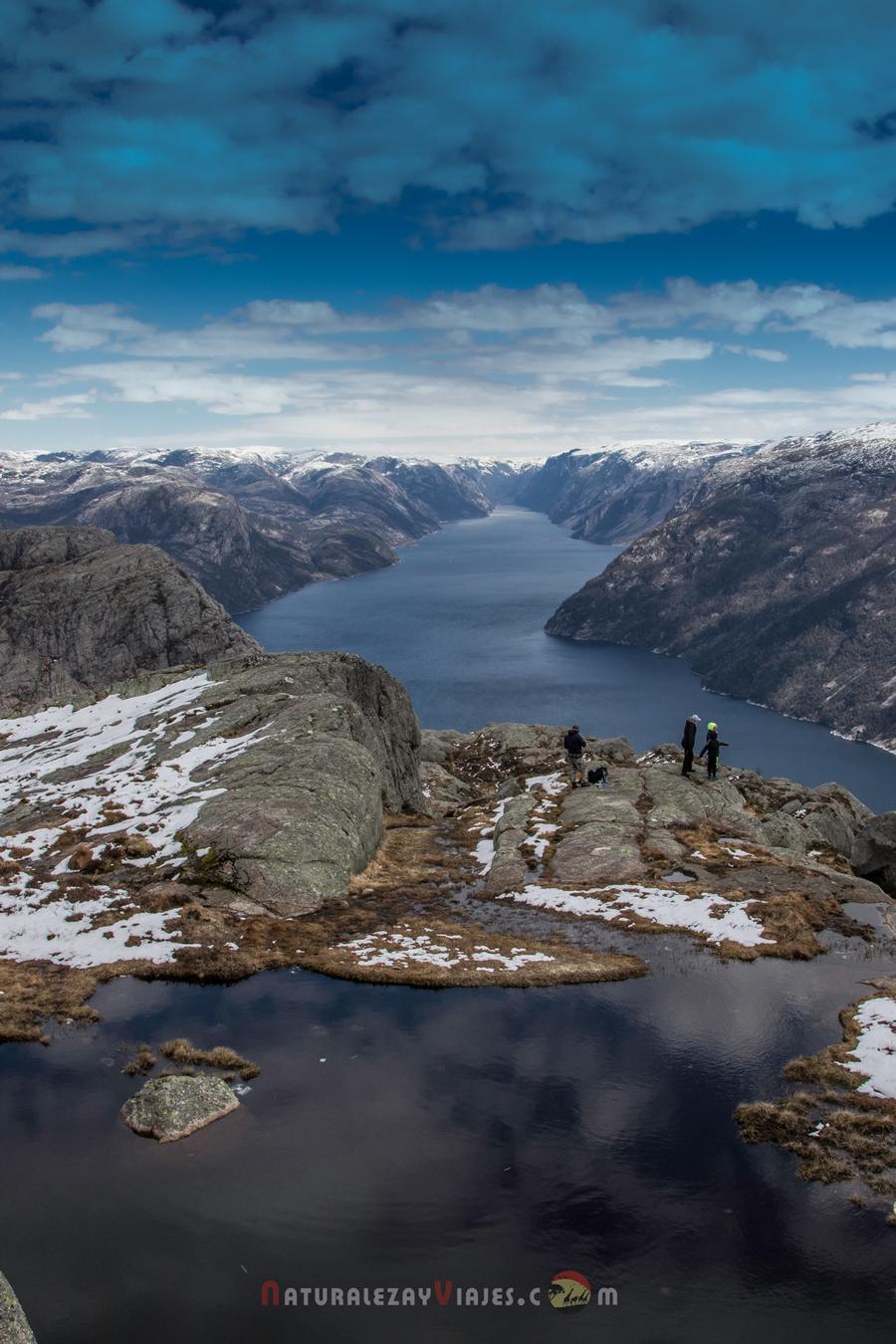 Preikestolen, Noruega