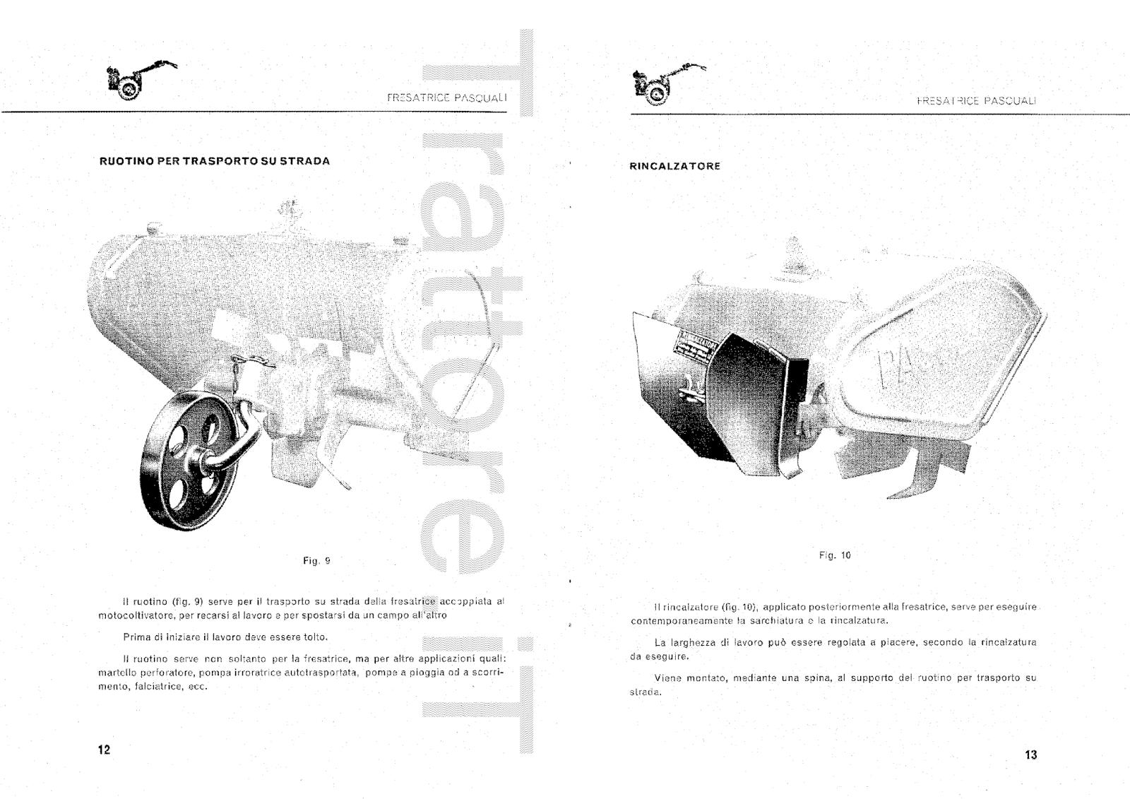 InfoTrattore.it: Fresatrice Pasquali 591 per
