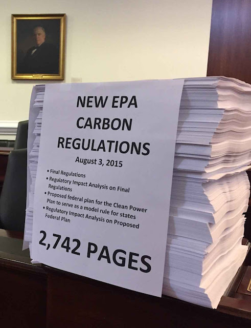 Clean Power Plan de Obama: projetos ambientalistas geram controles burocráticos esmagadores