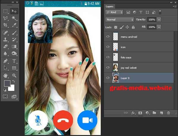 Cara Membuat Video Call Palsu Dengan Photoshop Grafis Media