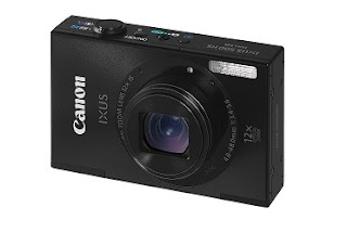 Lowest Price Offer: Get Canon Ixus 500 Black Camera worth Rs.14995 for Rs.8211 Only