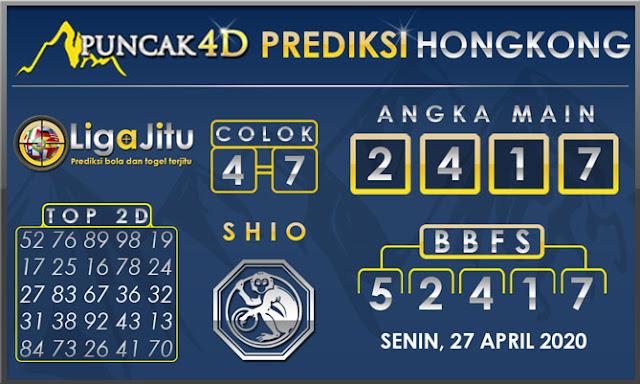 PREDIKSI TOGEL HONGKONG PUNCAK4D 27 APRIL 2020