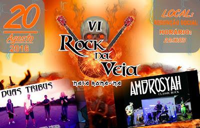 Aconteçe neste sabado o Rock na Veia em Mata Roma