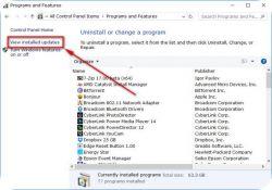 حذف وايقاف التحديثات في ويندوز 10