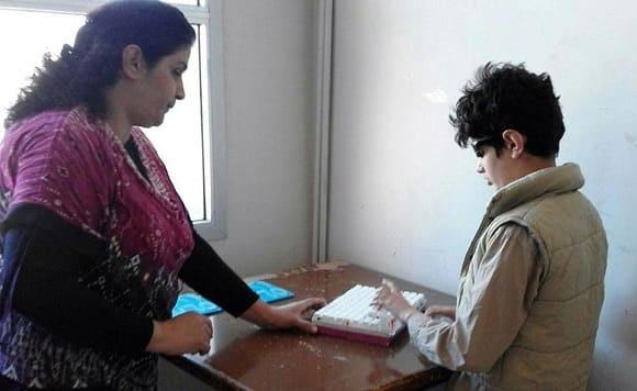 معهد التربية الخاص بالإعاقة السمعية بالسويداء يستقطب المكفوفين لإكمال دراستهم