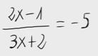 23. Ecuación de primer grado