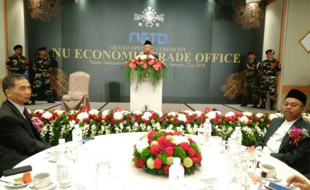 Alhamduillah, Rais 'Aam PBNU Resmikan Kantor Dagang dan Ekonomi NU di Taiwan