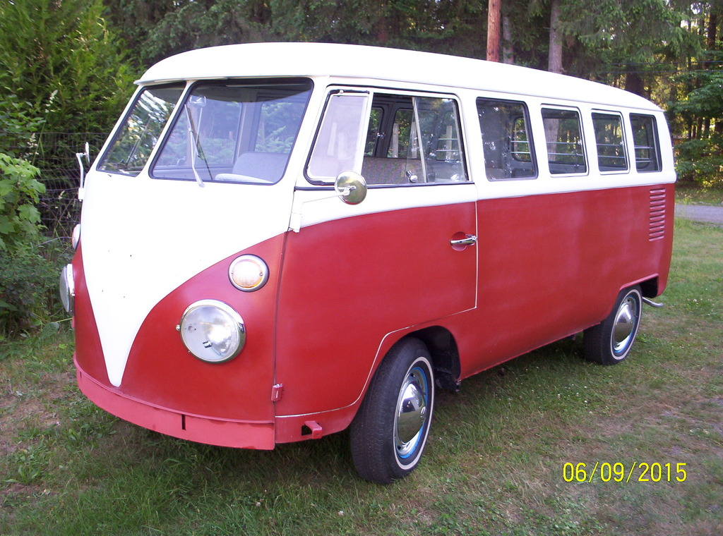 1965 VW T1 Bus 13 Window | vw bus wagon