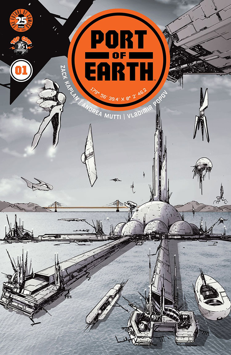 In A Neat Twist On The Usual First Contact Story Port Of Earth Depicts Future Where Aliens Do Come And Make With Humanity But Only To Lease