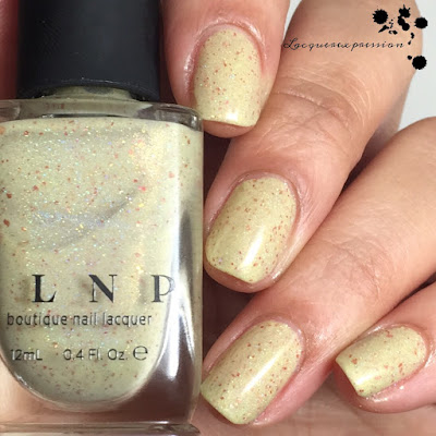 nail polish swatch of spiced eggnog by ilnp
