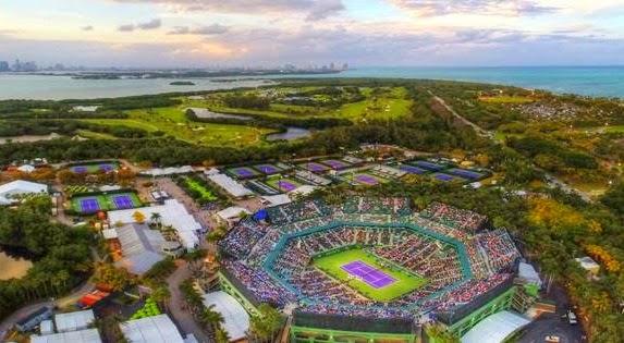 O torneio de tênis Miami Open