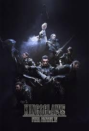 Kingsglaive: Final Fantasy XV 2016 movie Poster