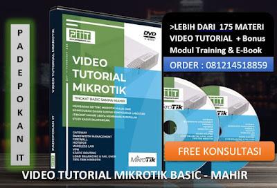 Video Tutorial Mikrotik Basic - Mahir