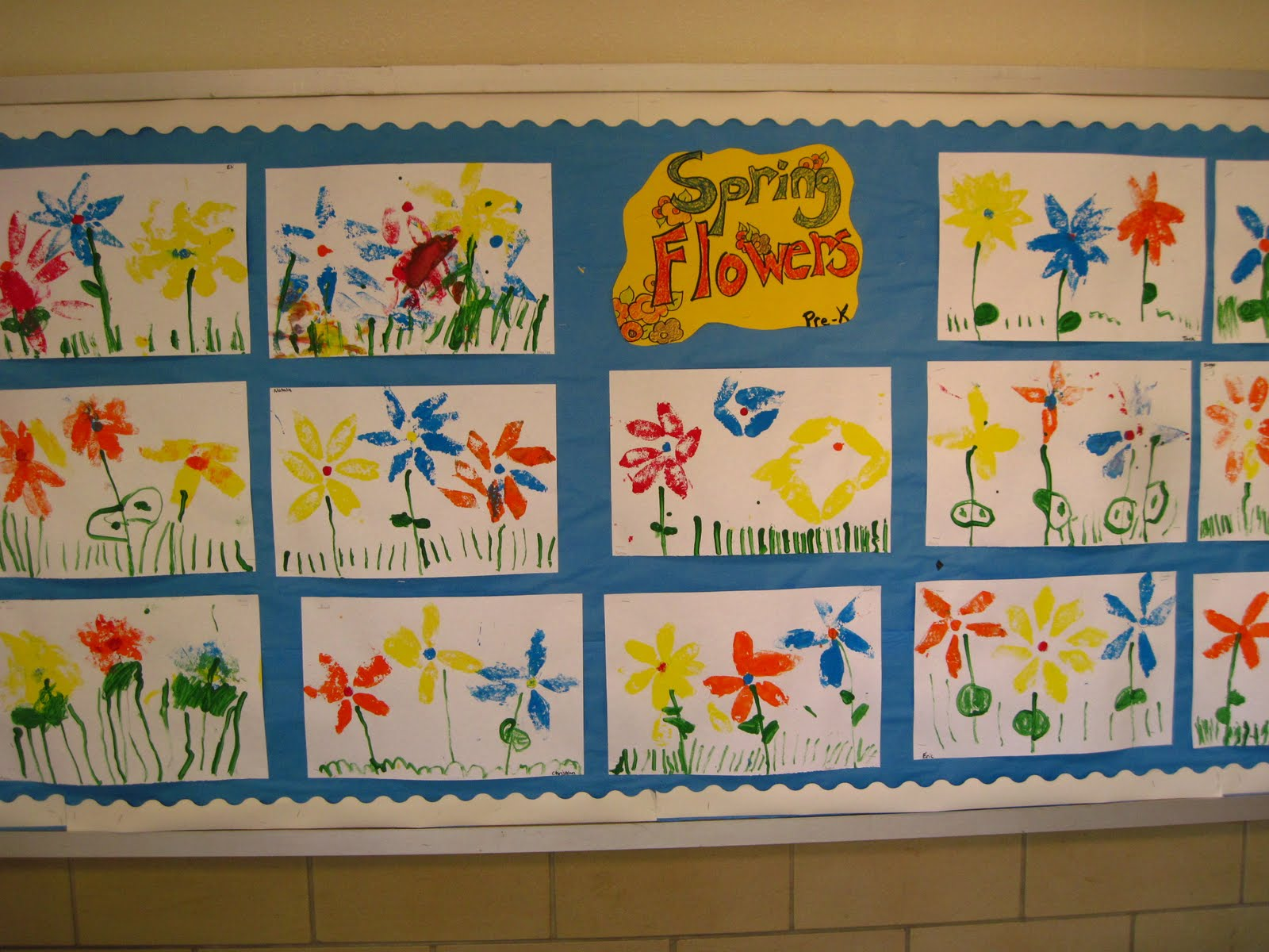 Lines Dots And Doodles Flowers Pre K
