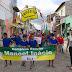 Passeata marca abertura de projeto desenvolvido no Complexo Escolar Manoel Inácio, em Ponto Novo