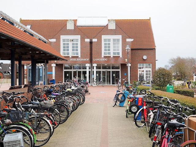 Langeoog, Inselbahnhof