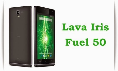 LavaIris Fuel 50: 5 inch,1.3 GHz Quadcore Android Phone Specs, Price