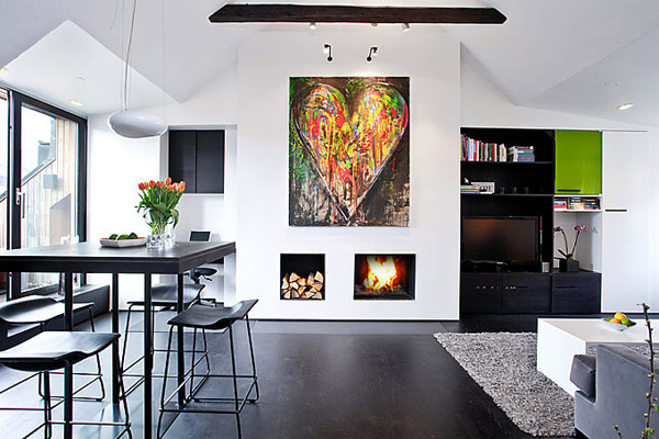 Hogares frescos dise o perfecto inspirado por encantador for Departamentos decorados estilo moderno