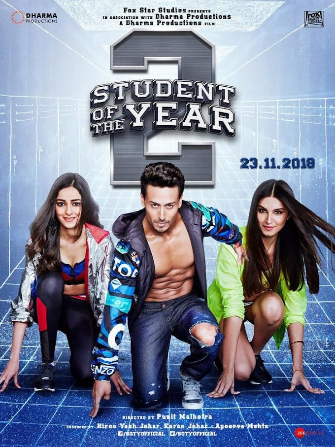 Student of the Year 2 (Hindi) Ringtones & Bgm for Mobile