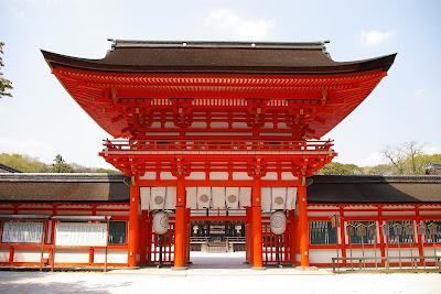 Kuil Shimogamo Kyoto Jepang