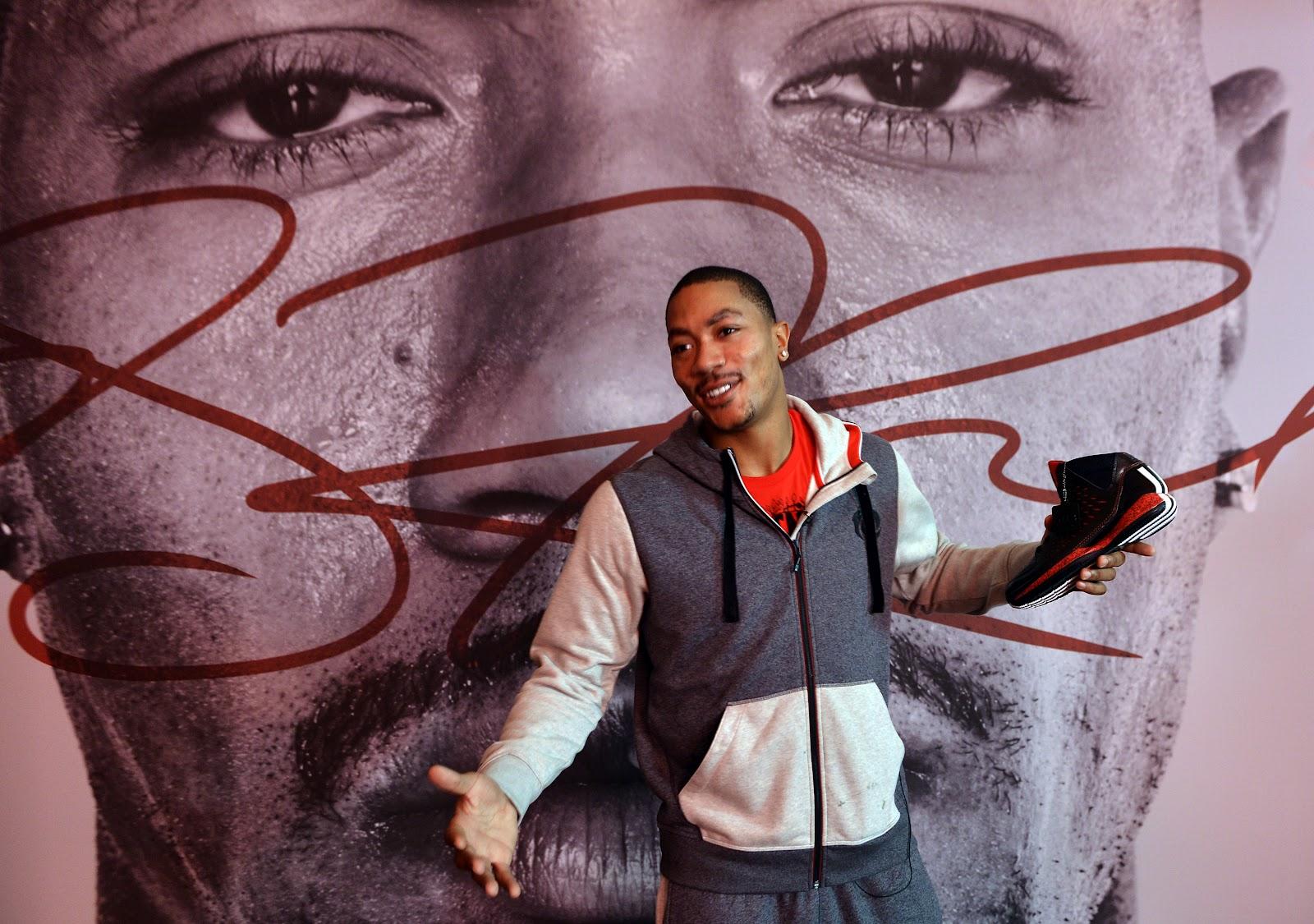 on sale 7af89 99fb4 adidas & Derrick Rose Launch