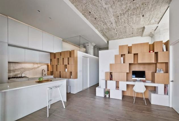 desain rak dinding kreatif dan unik rancangan desain
