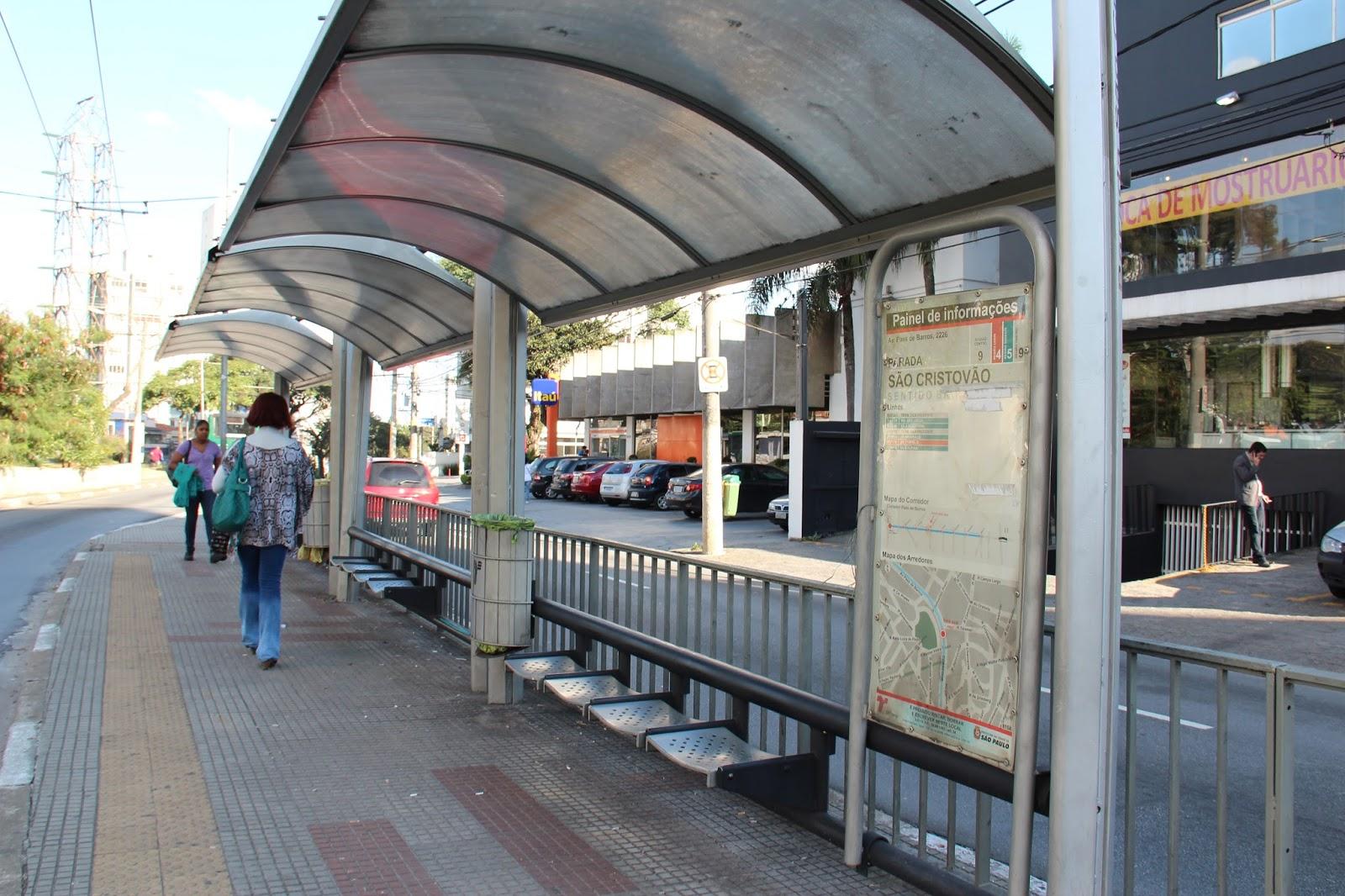 Artesanato Paes De Barros ~ Blog Metrópole SP Corredor de u00d4nibus Paes de Barros