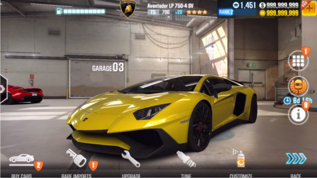 CSR Racing 2 Mod Apk Unlimited Money Download Free for Android