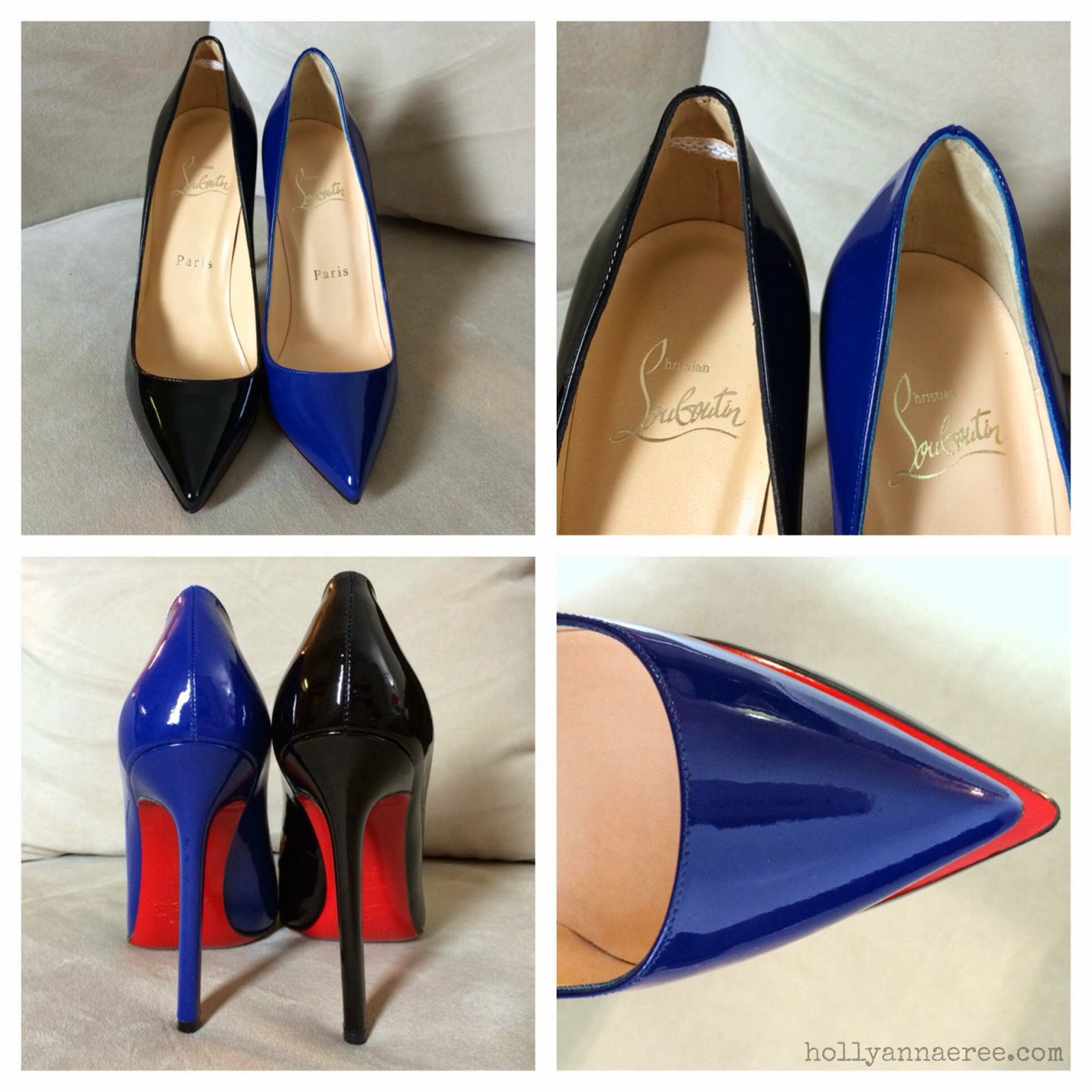 95220ee5113b Changes to the Christian Louboutin Pigalle 120mm - WHYYY ! ! Comparison  Photos (pic heavy)