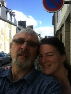 jenny and john in France