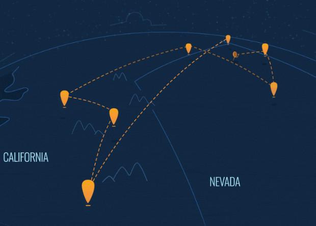 Проект интернета из стратосферы Project Loon провел первые эксперименты по дальности связи с аэростатов: результаты впечатляют!