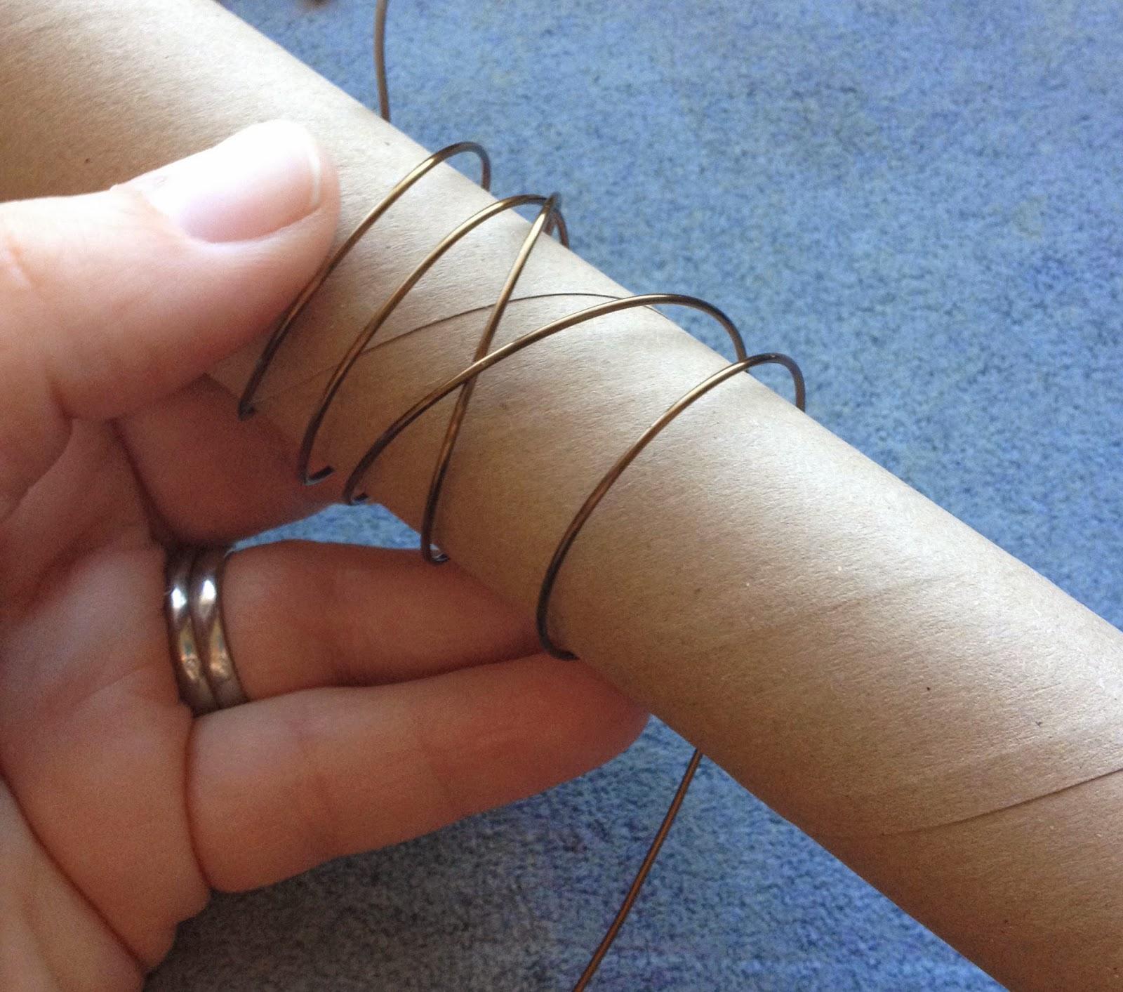 Tutorial Tuesday: DIY Wire Wrap Napkin Rings | Kristen Fagan Art and ...