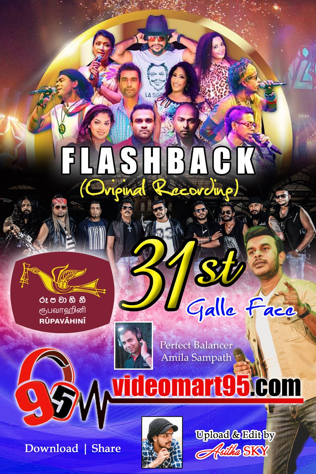 FLASH BACK 31st Night Gall Face 2018 - videomart95