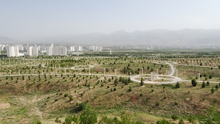 This country will evolve and be the most modern and white country with Ashgabat as capital.