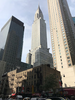 Chrysler Building de loin !