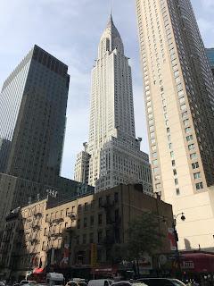 Chrysler Building de loin !