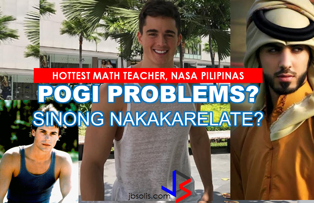 "Now, the fans of the hottest math teacher may have a chance to meet him in flesh as he will have a meet and greet event in the Philippines on March 14 in Davao.        The world's most handsome math teacher. He is now claiming that his good looks has dwarfed his academic capabilities, and that some women can't keep their hands to themselves. Some of his students would also sneak pictures of him while in class. By the way he has earned his Phd in Mechanical Engineering already at age 26 and has very impressive academic achievements.  Italian model and academic Pietro Boselli, dubbed as the ""The World's Hottest Math Teacher,""by the netizens arrived in Manila on Saturday, setting hearts beat faster. Boselli is in the Philippines for a modeling gig by a local clothing brand, He has a a meet and greet schedule with fans in Manila on March 12, and in Davao on March 14.  We just hope that the people who are furious of good looking guys will never get to come near him.  (Just kidding.) I hope this headline will not scare him away.  A Google image of a headline that says: ""A guy was killed for being good looking.""   Generally, the notion we put when someone is handsome or pretty is that they are so privileged to be such. And most of the time we give them the benefit and consideration. But who would have thought that beauty could pose so much disadvantage, site for example these good looking men from different parts of the world:  Who among you remembers Omar Bolkan Al Gala - the Emirati man who had been rumoured back in 2013 to have been deported from Saudi Arabia ""FOR BEING TOO HANDSOME""? According to the Arabic news paper Elaph, there were a trio of hunks that had been deported for fears that women in Saudi Arabia would find them irresistible and he is one of them. Watch his interview here:    READ MORE OMAR AL GALA: SAUDI DEPORTATION STORY NOT TRUE.     When he wore this tank top and his hair quaffed perfectly in the wind.   We have Rob Lowe, a 51 year old actor who admitted that being handsome has some disadvantages specially in the entertainment industry. 'There's this unbelievable bias and prejudice against quote-unquote good-looking people, that they can't be in pain or they can't have rough lives or be deep or interesting,' Lowe told the New York Times. In an article published by The Independent he said ""Being attractive makes it ""much harder"" to get by in the entertainment industry.     Read more: http://www.jbsolis.com/2015/05/3-of-worlds-most-handsome-men-and.html#ixzz4bDGGwkmB Recommended: NATIONAL PORTAL AND NATIONAL BROADBAND PLAN TO  SPEED UP INTERNET SERVICES IN THE PHILIPPINES In a Facebook post of Agriculture Secretary Manny Piñol, he said that after a presentation made by Dept. of Information and Communications Technology (DICT) Secretary Rodolfo Salalima, Pres. Duterte emphasized the need for faster communications in the country.Pres. Duterte earlier said he would like the Department of Information and Communications Technology (DICT) ""to develop a national broadband plan to accelerate the deployment of fiber optics cables and wireless technologies to improve internet speed."" As a response to the President's SONA statement, Salalima presented the  DICT's national broadband plan that aims to push for free WiFi access to more areas in the countryside.  Good news to the Filipinos whose business and livelihood rely on good and fast internet connection such as stocks trading and online marketing. President Rodrigo Duterte  has already approved the establishment of  the National Government Portal and a National Broadband Plan during the 13th Cabinet Meeting in Malacañang today. In a facebook post of Agriculture Secretary Manny Piñol, he said that after a presentation made by Dept. of Information and Communications Technology (DICT) Secretary Rodolfo Salalima, Pres. Duterte emphasized the need for faster communications in the country. Pres. Duterte earlier said he would like the Department of Information and Communications Technology (DICT) ""to develop a national broadband plan to accelerate the deployment of fiber optics cables and wireless technologies to improve internet speed."" As a response to the President's SONA statement, Salalima presented the  DICT's national broadband plan that aims to push for free WiFi access to more areas in the countryside.  The broadband program has been in the work since former President Gloria Arroyo but due to allegations of corruption and illegality, Mrs. Arroyo cancelled the US$329 million National Broadband Network (NBN) deal with China's ZTE Corp.just 6 months after she signed it in April 2007.  Fast internet connection benefits not only those who are on internet business and online business but even our over 10 million OFWs around the world and their families in the Philippines. When the era of snail mails, voice tapes and telegram  and the internet age started, communications with their loved one back home can be much easier. But with the Philippines being at #43 on the latest internet speed ranks, something is telling us that improvement has to made.                RECOMMENDED  BEWARE OF SCAMMERS!  RELOCATING NAIA  THE HORROR AND TERROR OF BEING A HOUSEMAID IN SAUDI ARABIA  DUTERTE WARNING  NEW BAGGAGE RULES FOR DUBAI AIRPORT    HUGE FISH SIGHTINGS    NATIONWIDE SMOKING BAN SIGNED BY PRESIDENT DUTERTE In January, Health Secretary Paulyn Ubial said that President Duterte had asked her to draft the executive order similar to what had been implemented in Davao City when he was a mayor, it is the ""100% smoke-free environment in public places.""Today, a text message from Sec. Manny Piñol to ABS-CBN News confirmed that President Duterte will sign an Executive Order to ban smoking in public places as drafted by the Department of Health (DOH). If you know someone who is sick, had an accident  or relatives of an employee who died while on duty, you can help them and their families  by sharing them how to claim their benefits from the government through Employment Compensation Commission.  Here are the steps on claiming the Employee Compensation for private employees.        Step 1. Prepare the following documents:  Certificate of Employment- stating  the actual duties and responsibilities of the employee at the time of his sickness or accident.  EC Log Book- certified true copy of the page containing the particular sickness or accident that happened to the employee.  Medical Findings- should come from  the attending doctor the hospital where the employee was admitted.     Step 2. Gather the additional documents if the employee is;  1. Got sick: Request your company to provide  pre-employment medical check -up or  Fit-To-Work certification at the time that you first got hired . Also attach Medical Records from your company.  2. In case of accident: Provide an Accident report if the accident happened within the company or work premises. Police report if it happened outside the company premises (i.e. employee's residence etc.)  3 In case of Death:  Bring the Death Certificate, Medical Records and accident report of the employee. If married, bring the Marriage Certificate and the Birth Certificate of his children below 21 years of age.      FINAL ENTRY HERE, LINKS OTHERS   Step 3.  Gather all the requirements together and submit it to the nearest SSS office. Wait for the SSS decision,if approved, you will receive a notice and a cheque from the SSS. If denied, ask for a written denial letter from SSS and file a motion for reconsideration and submit it to the SSS Main office. In case that the motion is  not approved, write a letter of appeal and send it to ECC and wait for their decision.      Contact ECC Office at ECC Building, 355 Sen. Gil J. Puyat Ave, Makati, 1209 Metro ManilaPhone:(02) 899 4251 Recommended: NATIONAL PORTAL AND NATIONAL BROADBAND PLAN TO  SPEED UP INTERNET SERVICES IN THE PHILIPPINES In a Facebook post of Agriculture Secretary Manny Piñol, he said that after a presentation made by Dept. of Information and Communications Technology (DICT) Secretary Rodolfo Salalima, Pres. Duterte emphasized the need for faster communications in the country.Pres. Duterte earlier said he would like the Department of Information and Communications Technology (DICT) ""to develop a national broadband plan to accelerate the deployment of fiber optics cables and wireless technologies to improve internet speed."" As a response to the President's SONA statement, Salalima presented the  DICT's national broadband plan that aims to push for free WiFi access to more areas in the countryside.   Read more: http://www.jbsolis.com/2017/03/president-rodrigo-duterte-approved.html#ixzz4bC6eQr5N Good news to the Filipinos whose business and livelihood rely on good and fast internet connection such as stocks trading and online marketing. President Rodrigo Duterte  has already approved the establishment of  the National Government Portal and a National Broadband Plan during the 13th Cabinet Meeting in Malacañang today. In a facebook post of Agriculture Secretary Manny Piñol, he said that after a presentation made by Dept. of Information and Communications Technology (DICT) Secretary Rodolfo Salalima, Pres. Duterte emphasized the need for faster communications in the country. Pres. Duterte earlier said he would like the Department of Information and Communications Technology (DICT) ""to develop a national broadband plan to accelerate the deployment of fiber optics cables and wireless technologies to improve internet speed."" As a response to the President's SONA statement, Salalima presented the  DICT's national broadband plan that aims to push for free WiFi access to more areas in the countryside.  The broadband program has been in the work since former President Gloria Arroyo but due to allegations of corruption and illegality, Mrs. Arroyo cancelled the US$329 million National Broadband Network (NBN) deal with China's ZTE Corp.just 6 months after she signed it in April 2007.  Fast internet connection benefits not only those who are on internet business and online business but even our over 10 million OFWs around the world and their families in the Philippines. When the era of snail mails, voice tapes and telegram  and the internet age started, communications with their loved one back home can be much easier. But with the Philippines being at #43 on the latest internet speed ranks, something is telling us that improvement has to made.                RECOMMENDED  BEWARE OF SCAMMERS!  RELOCATING NAIA  THE HORROR AND TERROR OF BEING A HOUSEMAID IN SAUDI ARABIA  DUTERTE WARNING  NEW BAGGAGE RULES FOR DUBAI AIRPORT    HUGE FISH SIGHTINGS    NATIONWIDE SMOKING BAN SIGNED BY PRESIDENT DUTERTE In January, Health Secretary Paulyn Ubial said that President Duterte had asked her to draft the executive order similar to what had been implemented in Davao City when he was a mayor, it is the ""100% smoke-free environment in public places.""Today, a text message from Sec. Manny Piñol to ABS-CBN News confirmed that President Duterte will sign an Executive Order to ban smoking in public places as drafted by the Department of Health (DOH).  Read more: http://www.jbsolis.com/2017/03/executive-order-for-nationwide-smoking.html#ixzz4bC77ijSR   EMIRATES ID CAN NOW BE USED AS HEALTH INSURANCE CARD  TODAY'S NEWS THAT WILL REVIVE YOUR TRUST TO THE PHIL GOVERNMENT  BEWARE OF SCAMMERS!  RELOCATING NAIA  THE HORROR AND TERROR OF BEING A HOUSEMAID IN SAUDI ARABIA  DUTERTE WARNING  NEW BAGGAGE RULES FOR DUBAI AIRPORT    HUGE FISH SIGHTINGS    EMIRATES ID CAN NOW BE USED AS HEALTH INSURANCE CARD  TODAY'S NEWS THAT WILL REVIVE YOUR TRUST TO THE PHIL GOVERNMENT  BEWARE OF SCAMMERS!  RELOCATING NAIA  THE HORROR AND TERROR OF BEING A HOUSEMAID IN SAUDI ARABIA  DUTERTE WARNING  NEW BAGGAGE RULES FOR DUBAI AIRPORT    HUGE FISH SIGHTINGS"