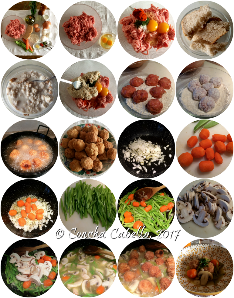 albóndigas-pollo-pimentón-pasos