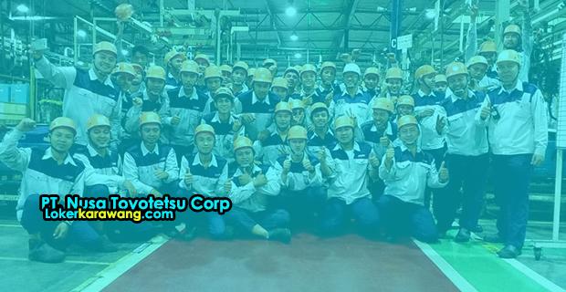 Lowongan Kerja PT. Nusa Toyotetsu Corp MM2100 Cikarang