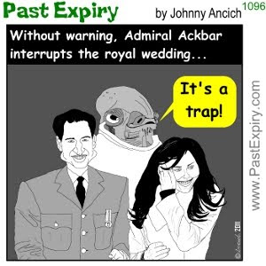 [CARTOON] Royal Wedding. cartoon, British, celebrity, relationships, spoof,